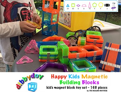 Happy Kids 3d Magnetic Building Block Toys