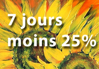 7 jours 25% off